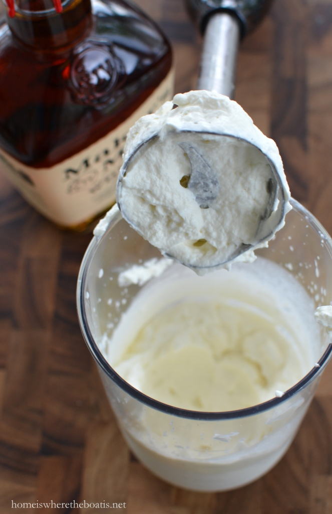 Whip up Bourbon Whipped Cream with an immersion blender ...