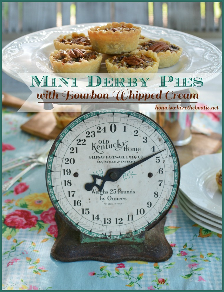 mini derby pies blue border