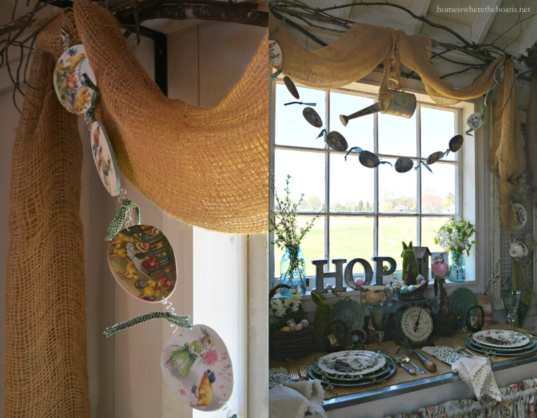 window egg garland