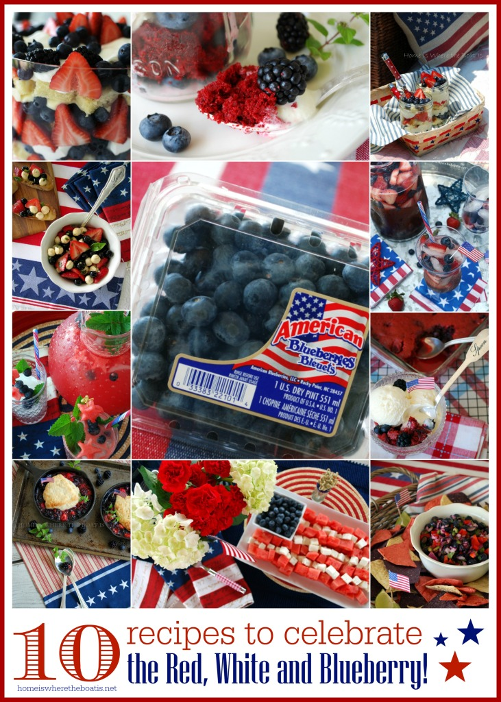 10 recipes for the red white and blueberry watermark