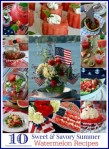 10 sweet & savory watermelon recipes blue