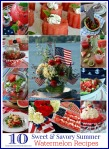 10 sweet & savory watermelon recipes blue