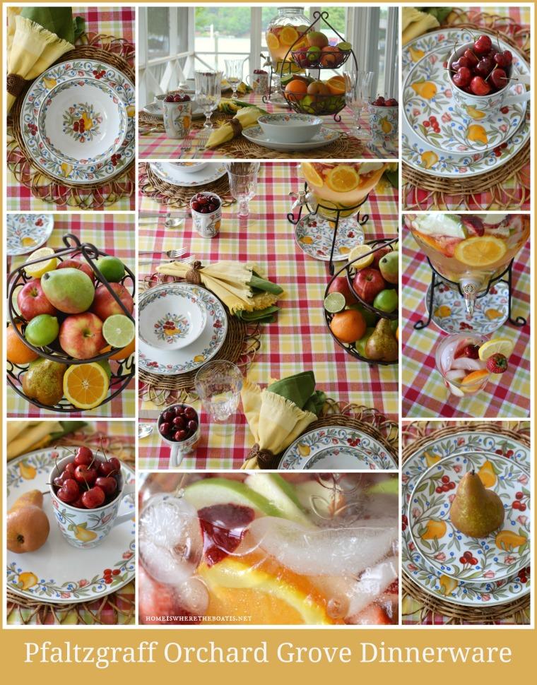 Pfaltzgraff Orchard Grove Dinnerware