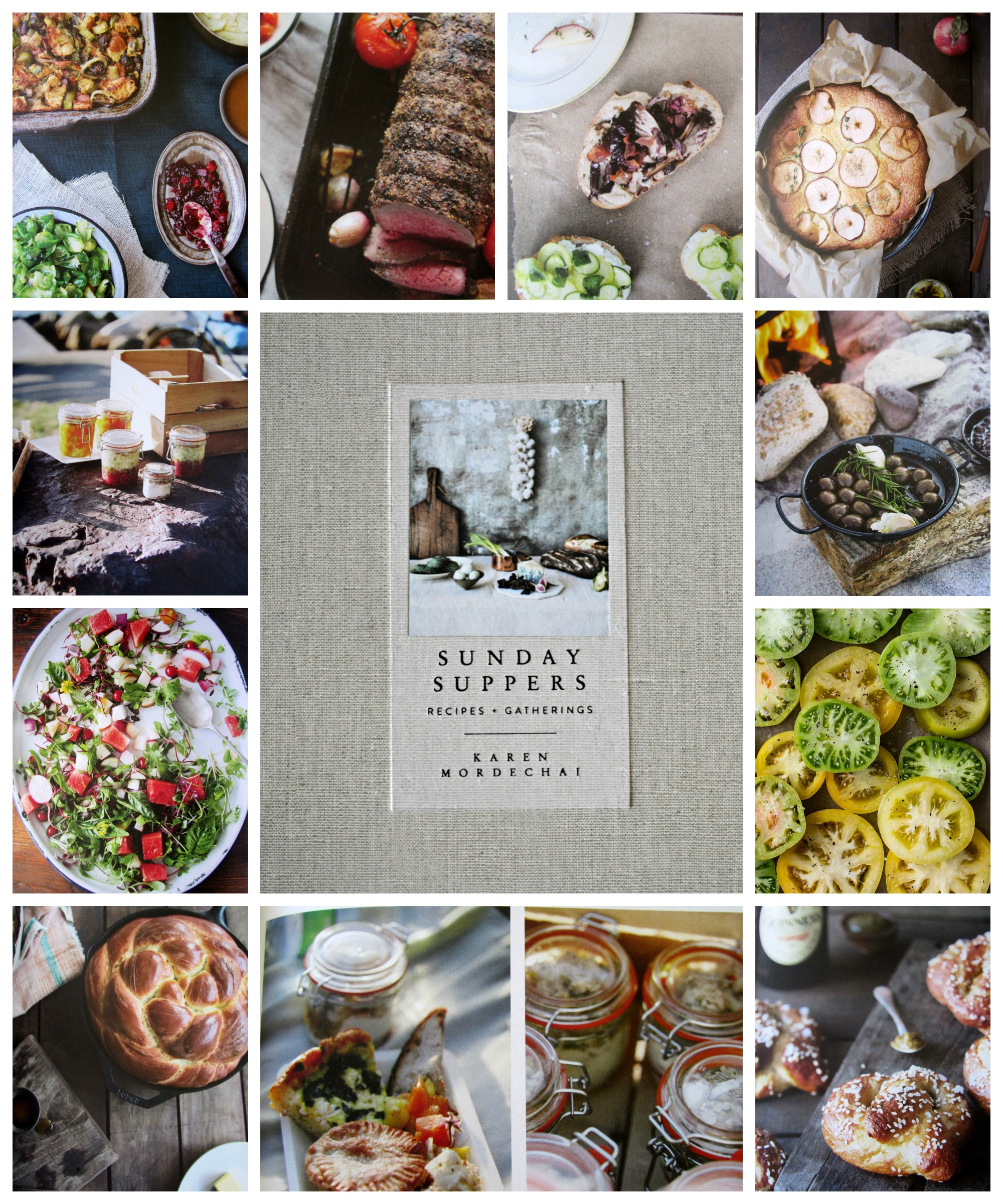 The Novel Bakers Present Sunday Suppers: Recipes