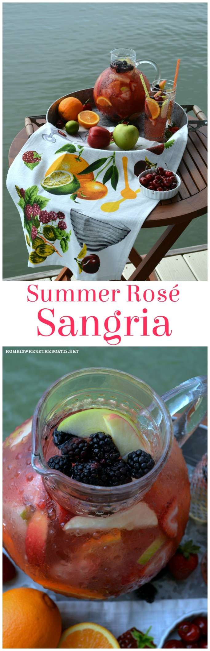 Summer Rose Sangria
