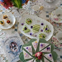 The Novel Bakers Present: The Vintage Tea Party Book!