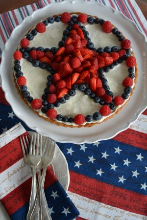 A Star Spangled Fruit Tart For Independence Day Home Is
