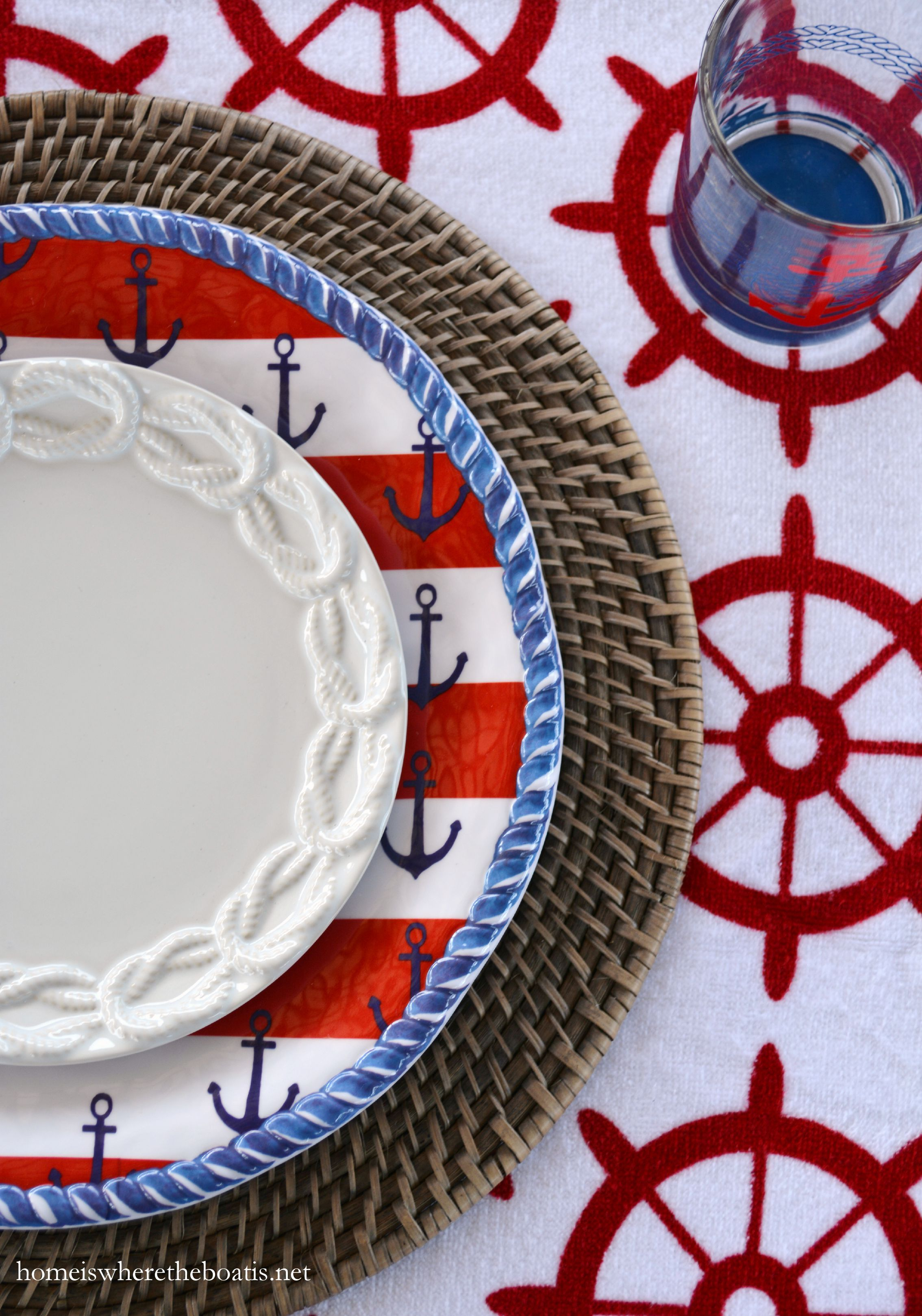 Anchors Aweigh And Nautical Fun On The Pontoon Home Is