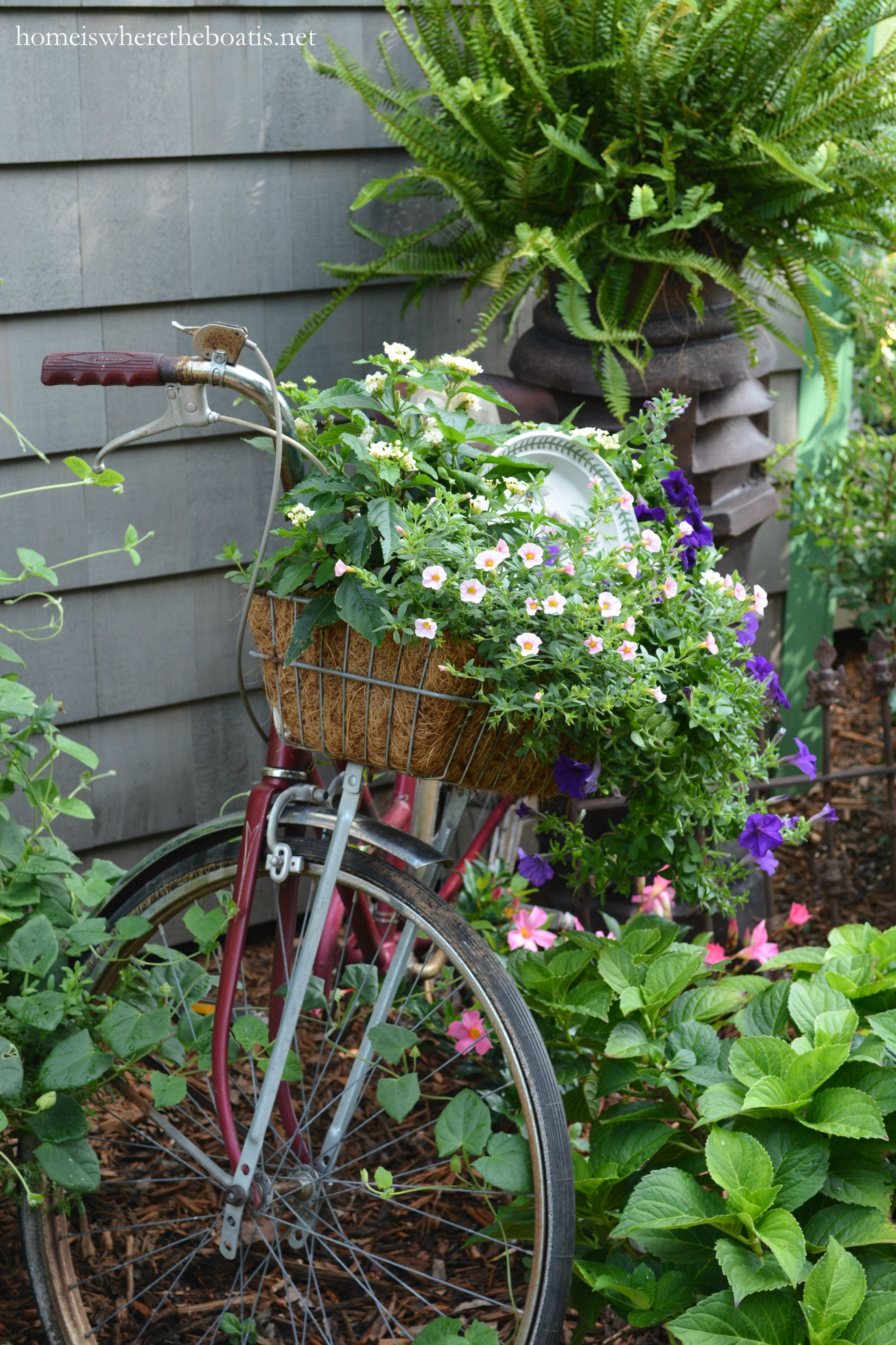 Gardening On Wheels: A Bicycle Built For Planting