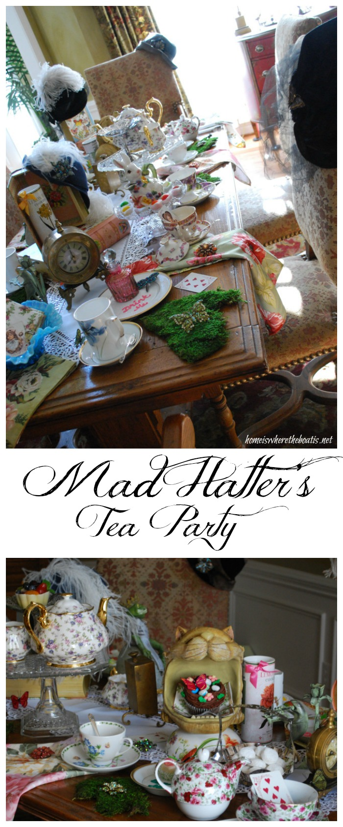 Mad Hatter's Tea Party | homeiswheretheboatis.net