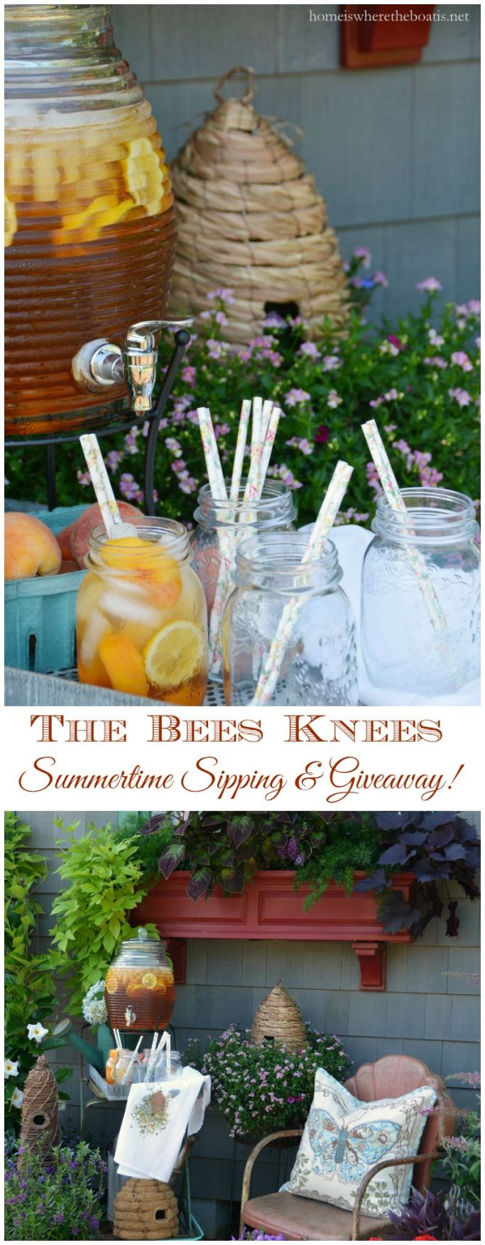 The Bees Knees Summertime Sipping and Giveaway!