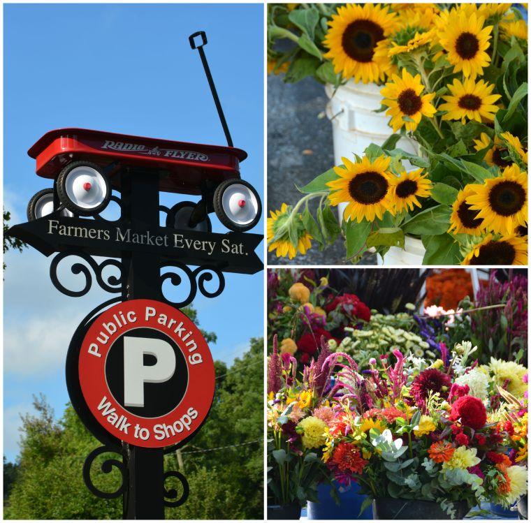 Davidson Farmers Market flowers