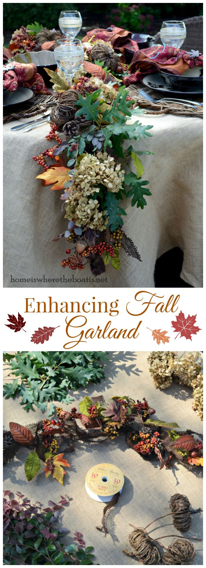 Enhancing Fall Garland