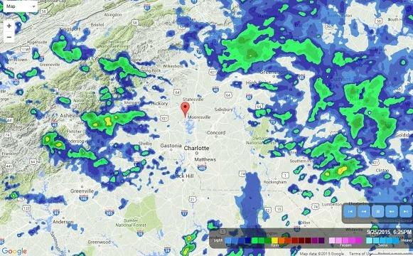 radar rain