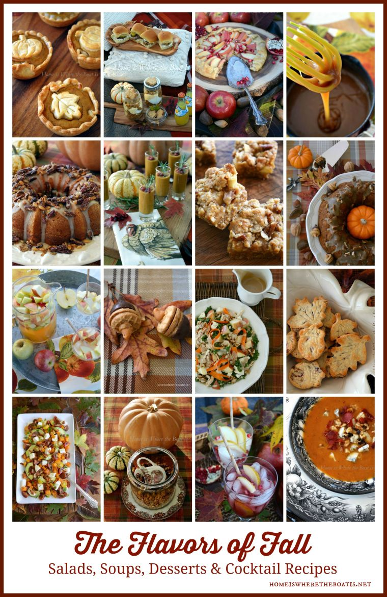 The Flavors of Fall Recipes