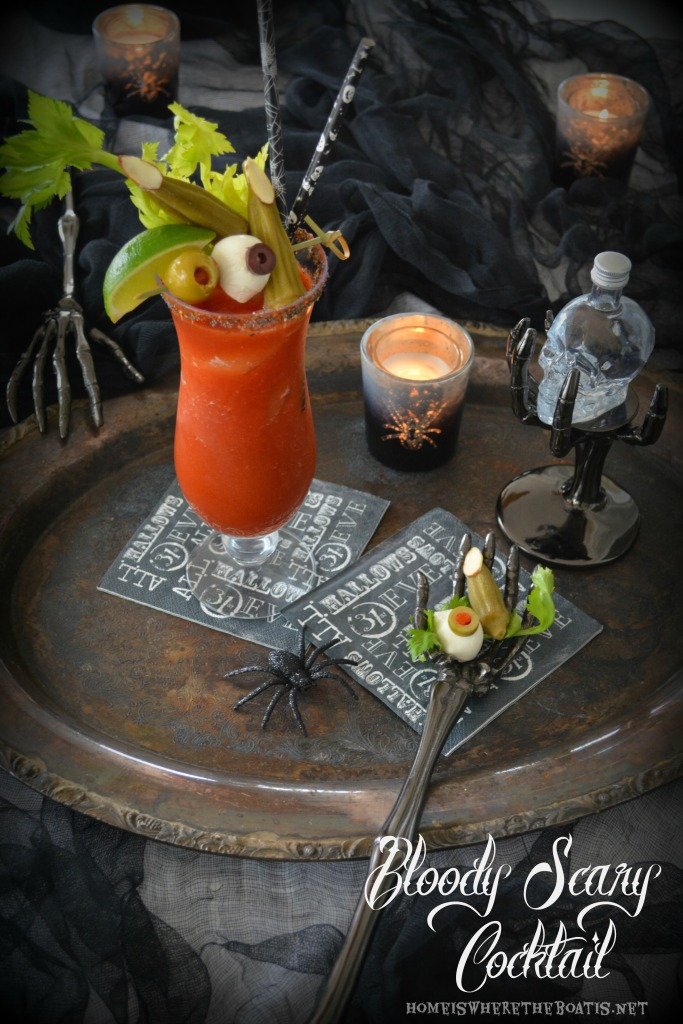 Bloody Scary Cocktail
