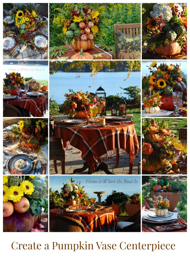 Create a Pumpkin Vase Centerpiece DIY