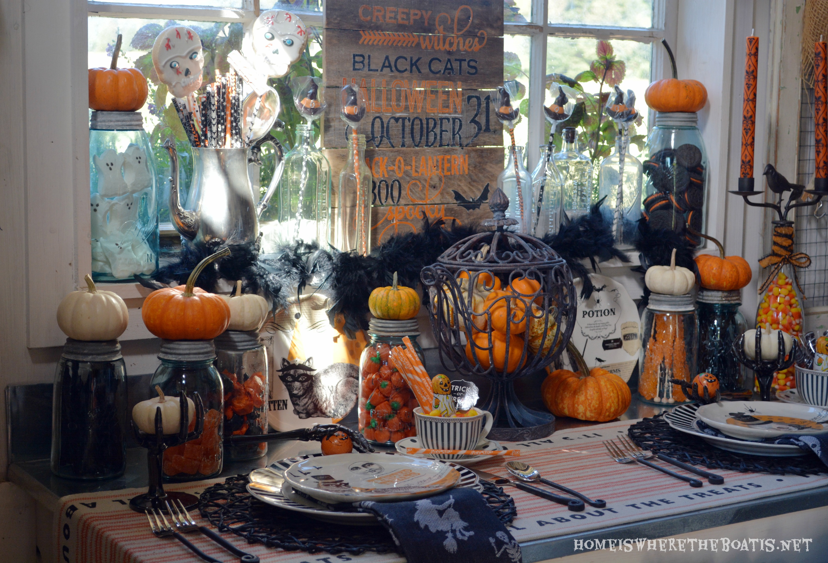 Witches tea party have