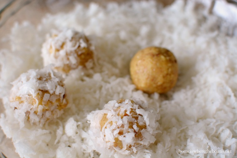 No Bake Coconut Orange Snowballs Home Is Where The Boat Is
