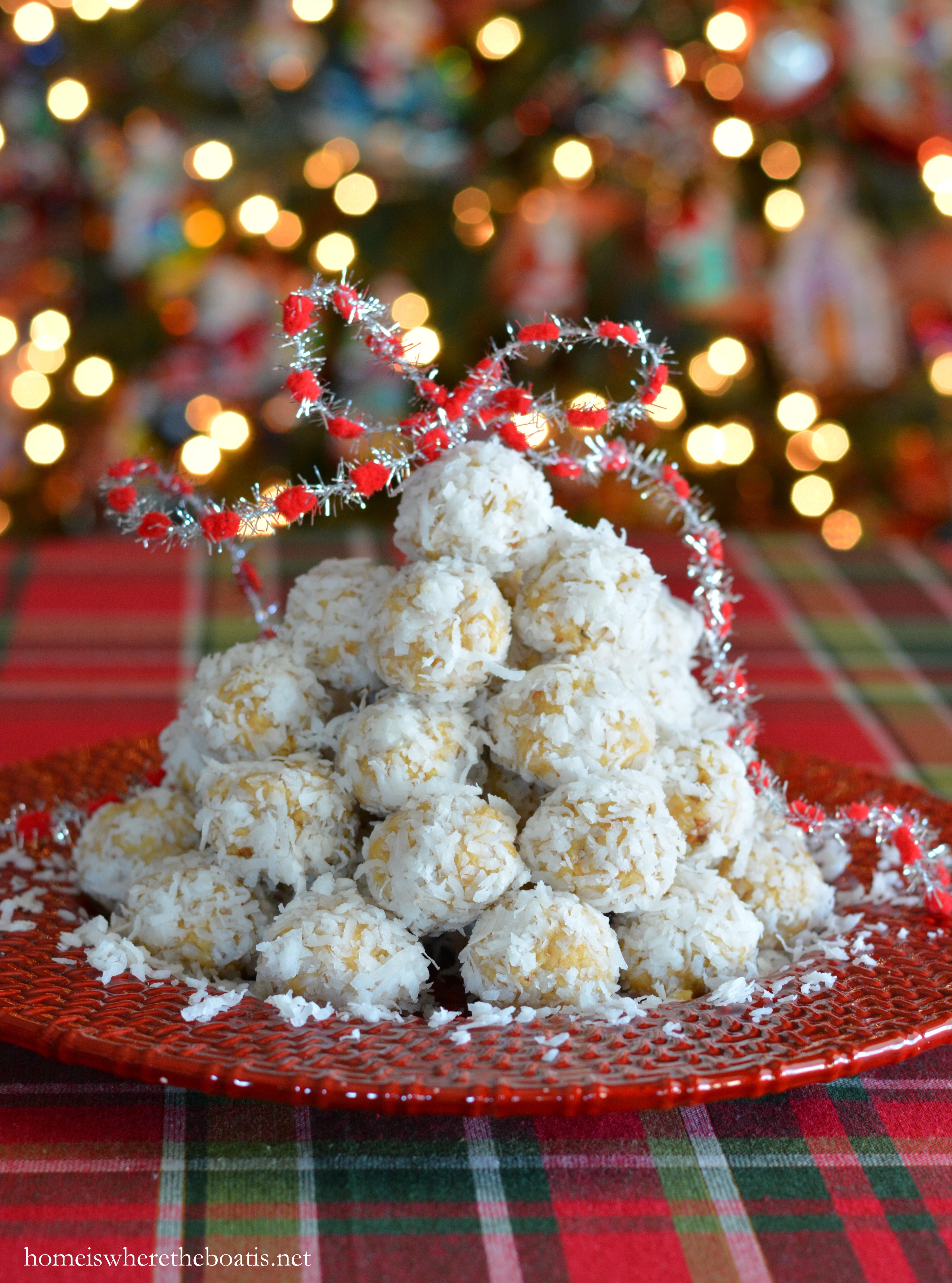 Coconut orange snowball cookie recipe