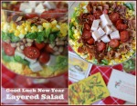 Good Luck New Year Layered Salad