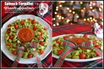 Spinach Tortellini Christmas Wreath  Appetizer
