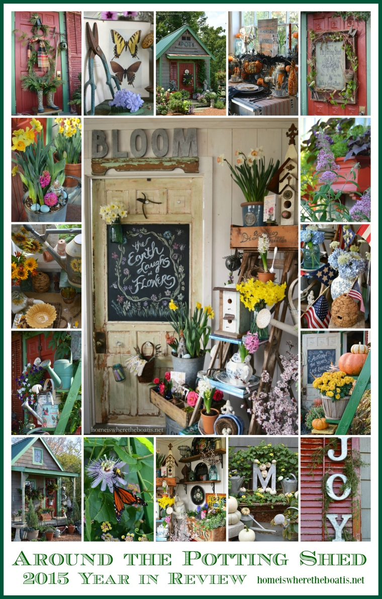 2015 Potting Shed Year in Review
