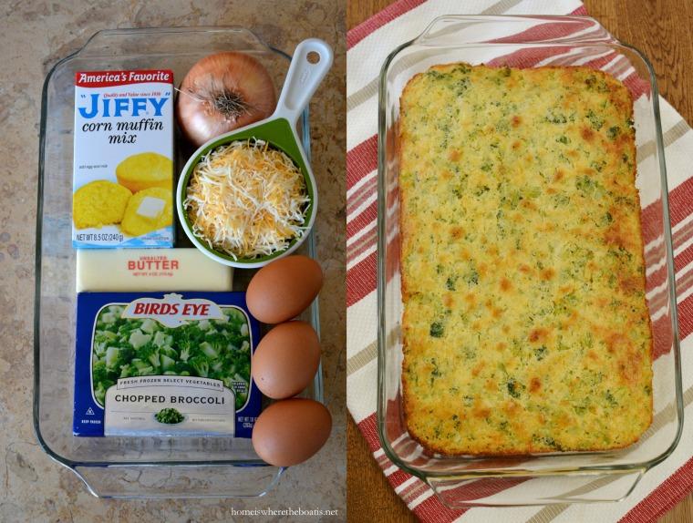 Broccoli-Cheddar Cornbread