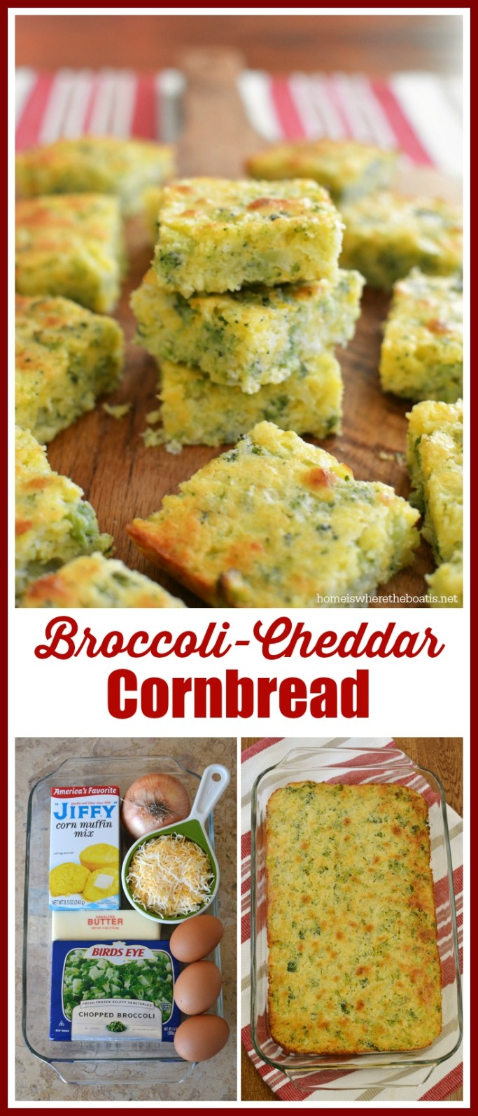 Broccoli Cheddar Cornbread Recipe — Dishmaps