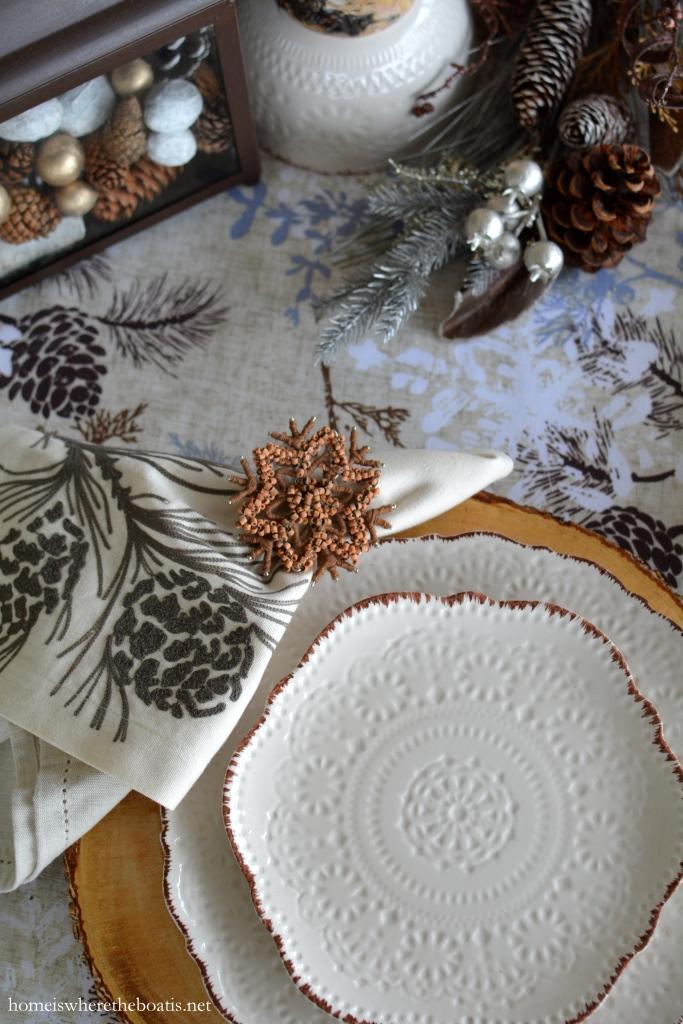 Christmas Tree Dinnerware