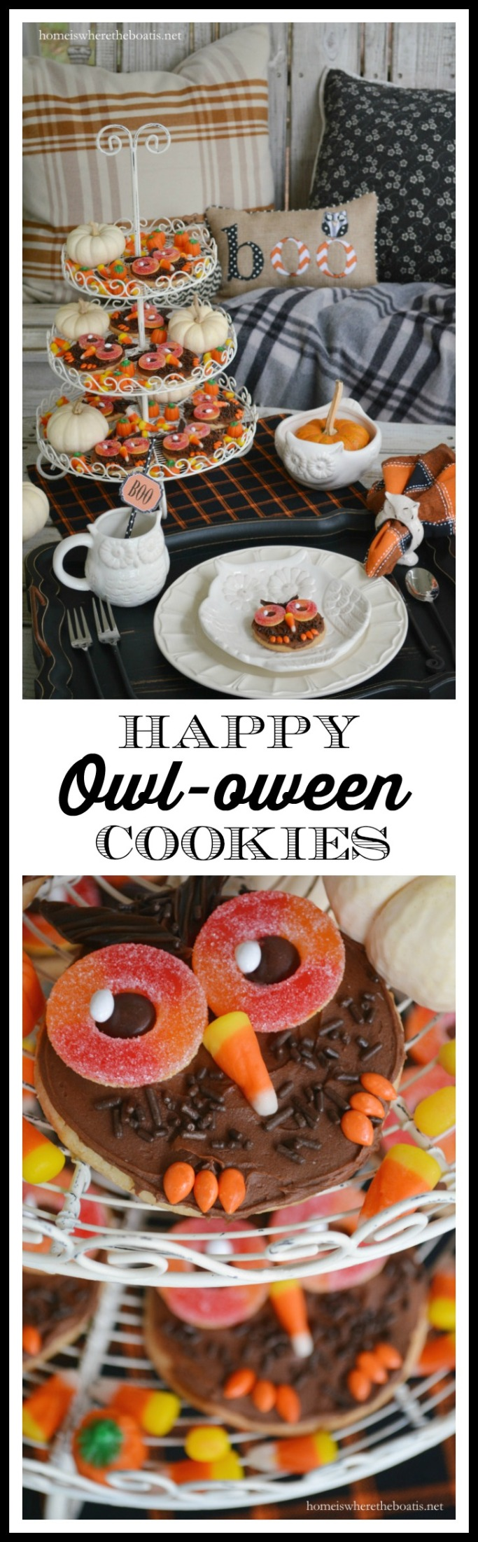 Happy Owl-oween Cookies