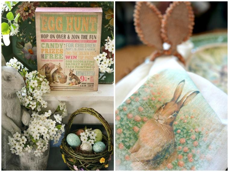 Easter Egg Hunt Table