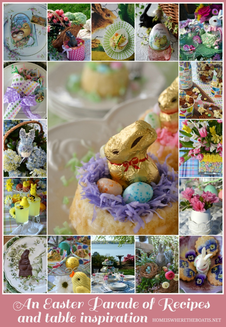 Easter Round Up of Recipes and Table Inspiration