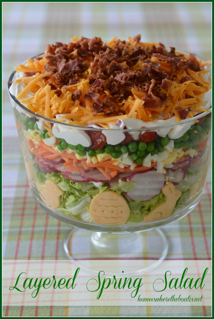 Layered Spring Salad