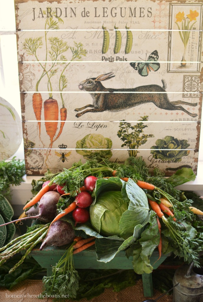 In The Potting Shed Jardin De Legumes And Bunnies Home Is Where