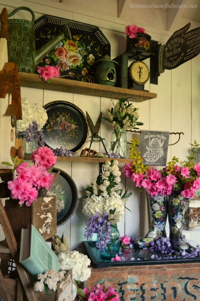 recycled potting sheds potting shed featured in she sheds a room of your own and