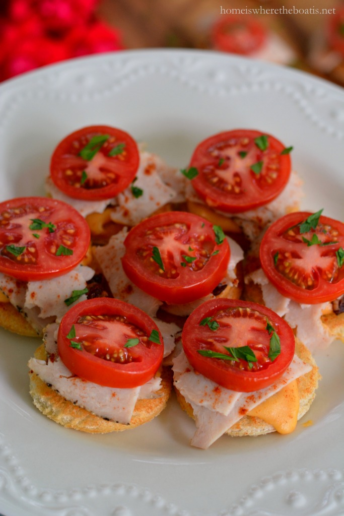 Run For The Roses Appetizer Mini Kentucky Hot Browns Home Is