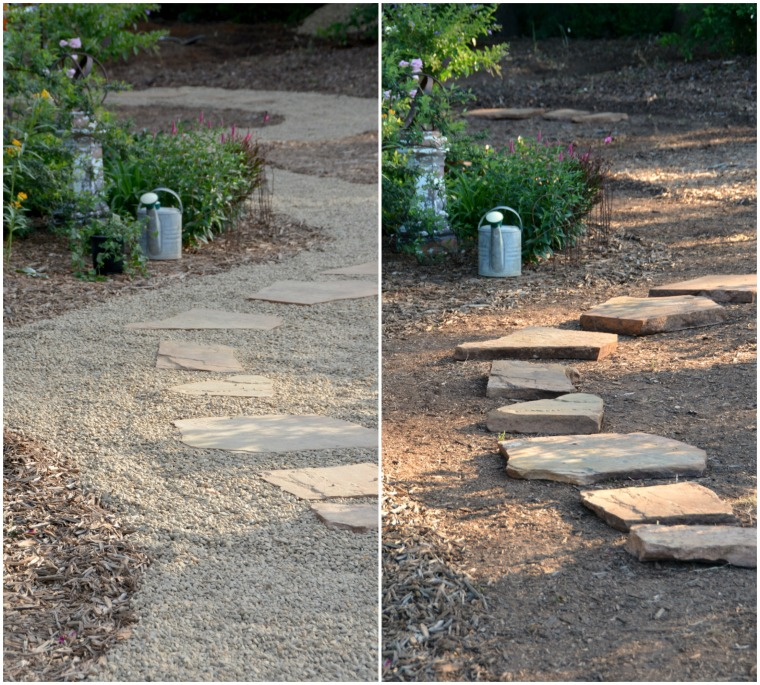 Pea Gravel Path Shed