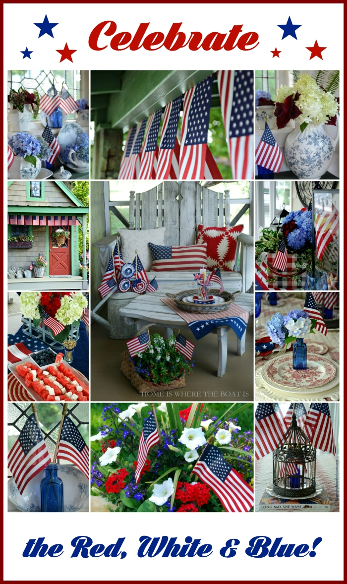 Celebrate the Red, White and Blue!
