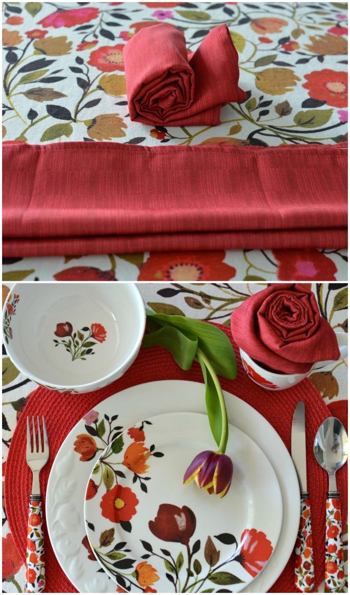 Flower Napkin Fold