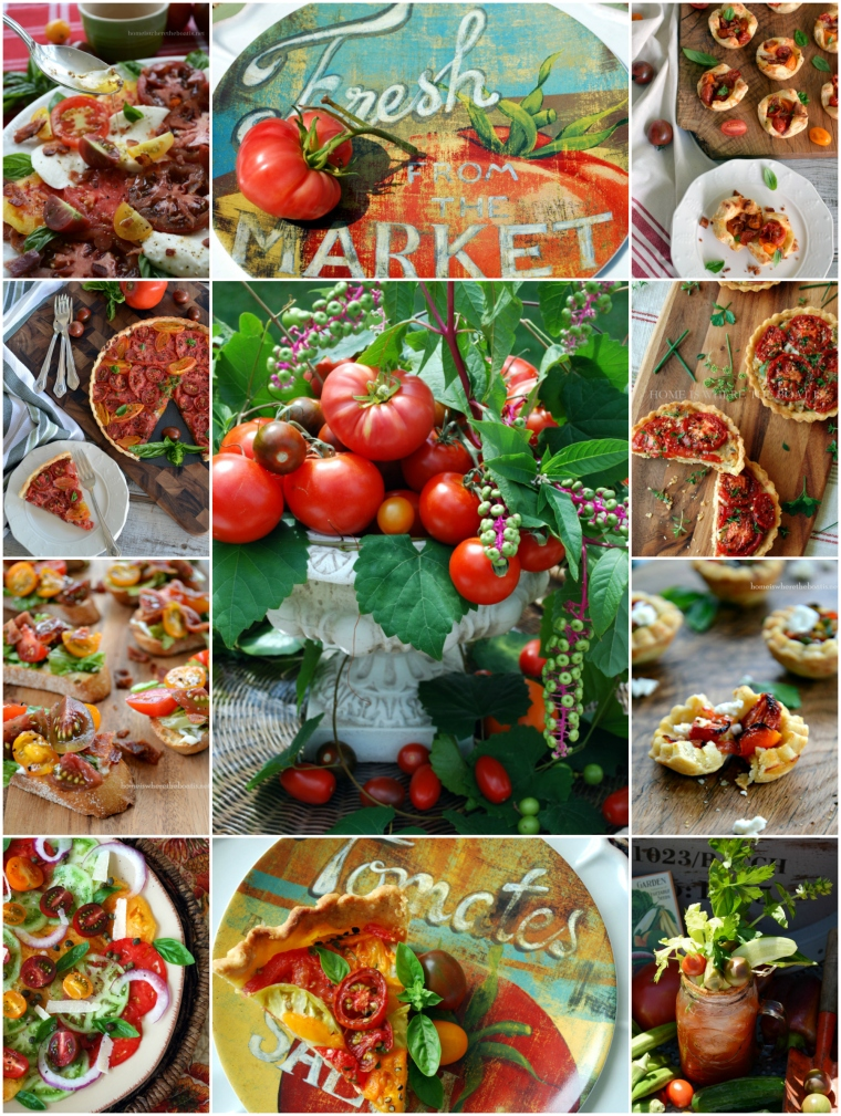 Summer Tomato Recipe Round-Up