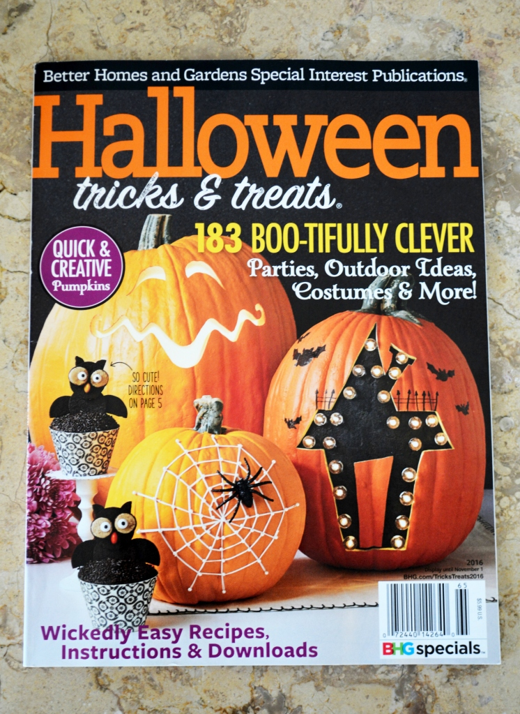 Featured In Halloween Tricks Treats Magazine Spooky Settings And Spellbinding Decorations