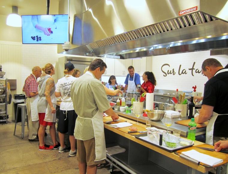 Sur la table coupon code cooking class