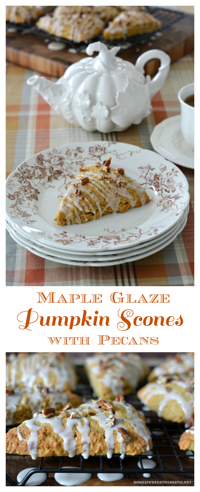 maple-glaze-pumpkin-scones