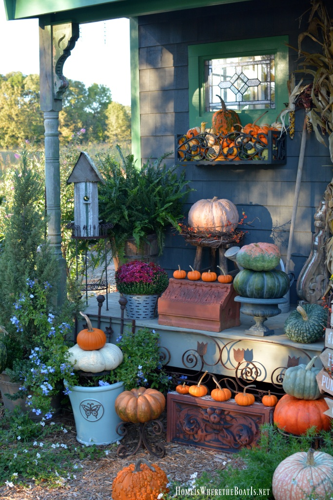A Fall Harvest Around The Potting Shed Home Is Where The