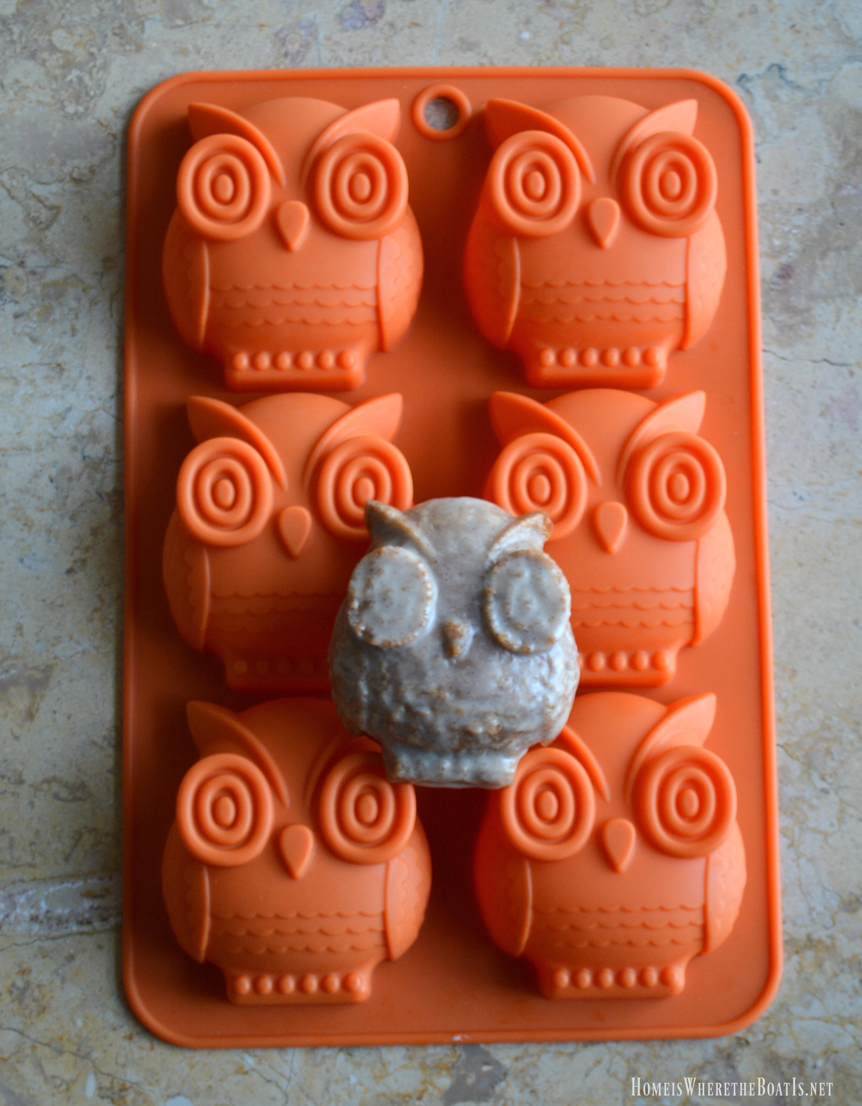 Owl cakelet pan recipes
