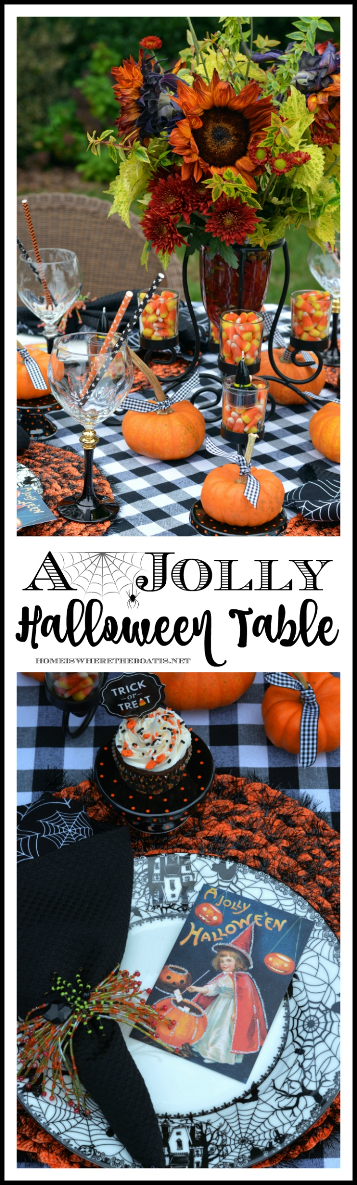 A Jolly Halloween Tablescape
