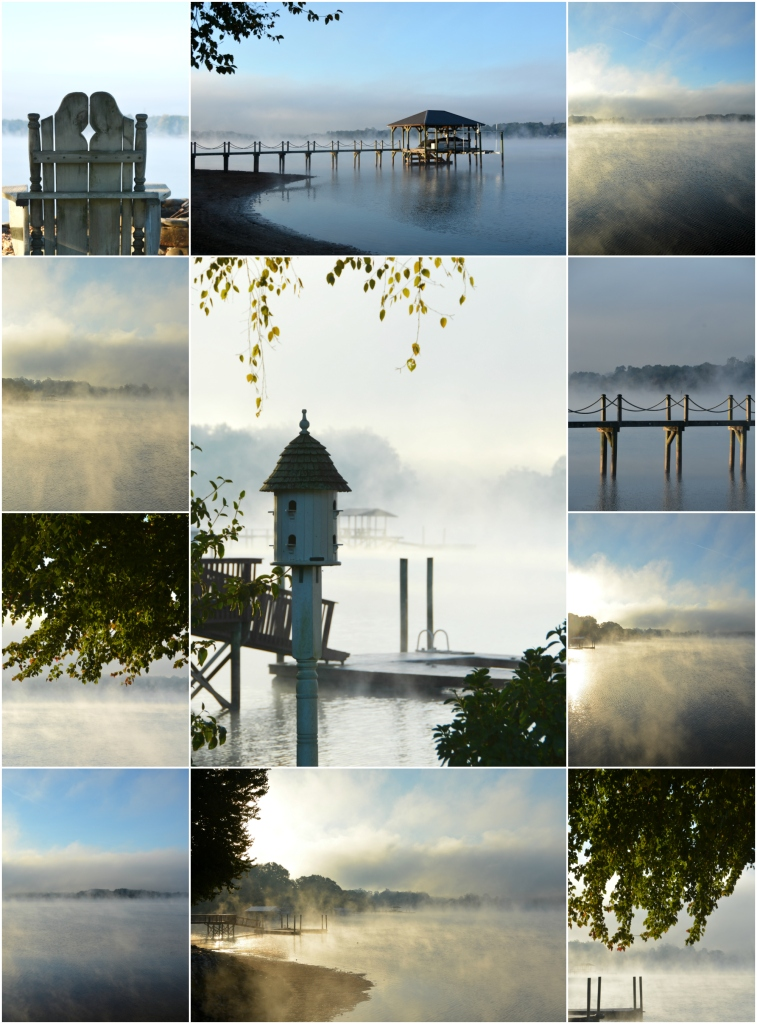 steam-fog-lake-norman