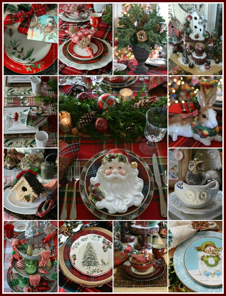 'Tis the Season Christmas Table Round-Up