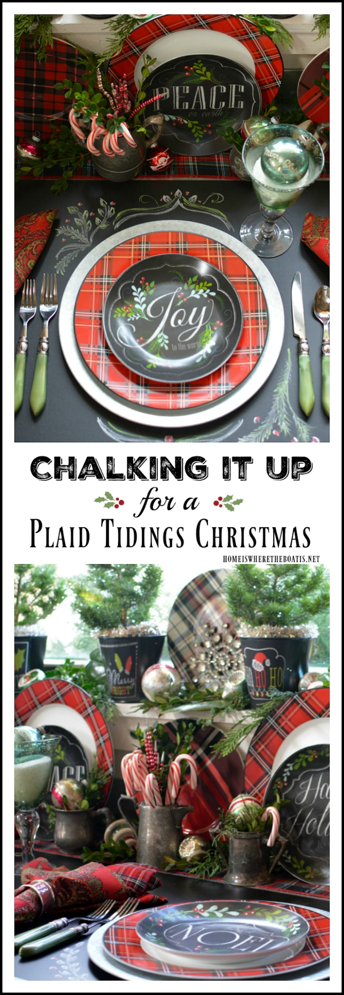 Chalking it Up Plaid Christmas